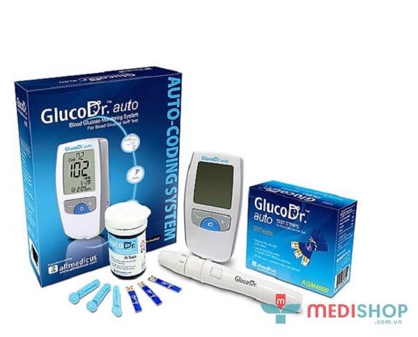 Máy đo Gluco.Dr