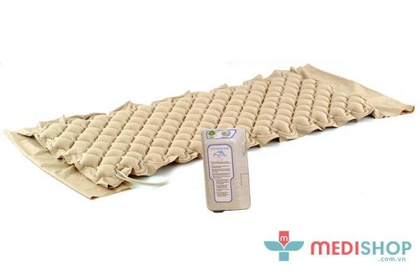 Nệm chống loét hỗ với các múi khí có tác dụng thông khí, lưu thông máu