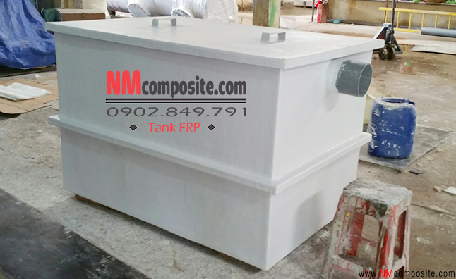 bể tách mỡ composite FRP Hoang Anh