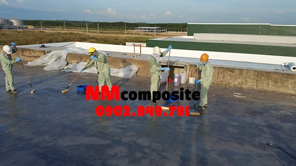 thi công chống thấm composite FRP