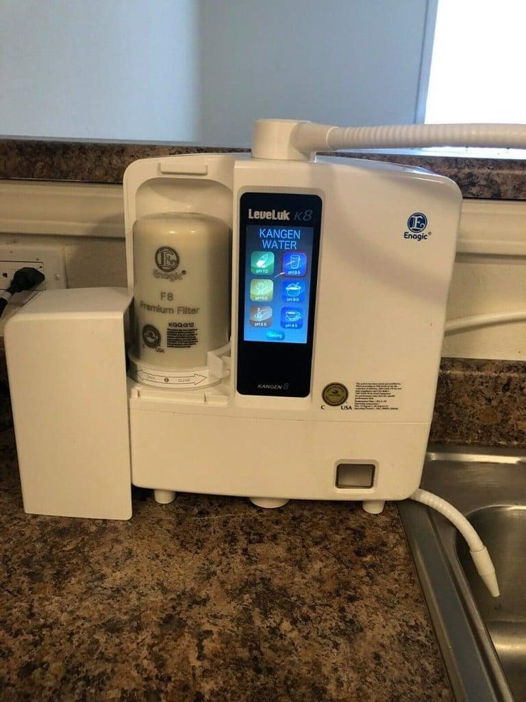 Cục tim lọc cũng như máy Kangen Leveluk K8 được người tiêu dùng đánh giá cao