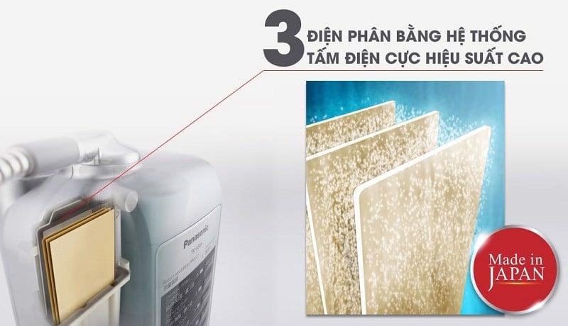 Đôi nét về công nghệ lọc và điện phân nước của Panasonic TK-AS45