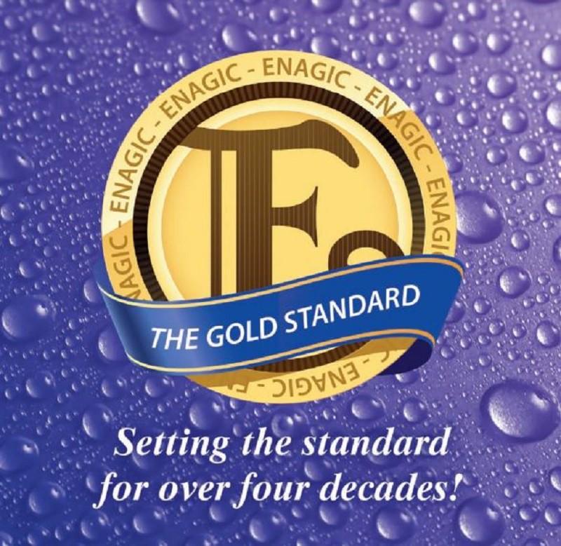 Enagic là thương hiệu duy nhất sở hữu 4 con dấu vàng Gold Seal