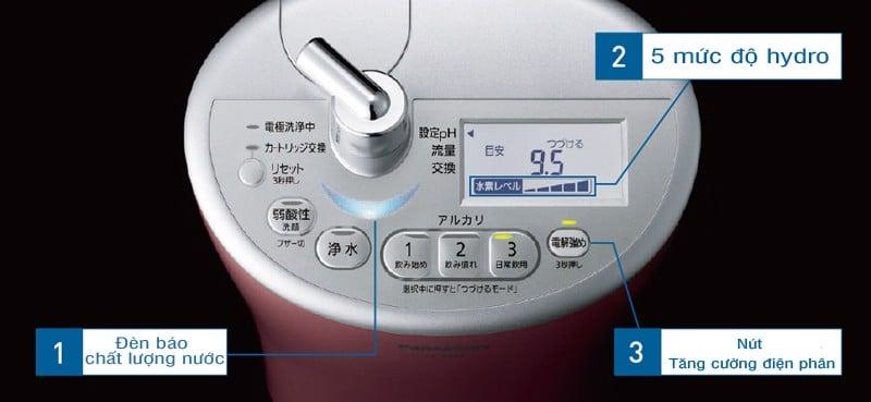 Hệ thống phím bấm, màn hình hiển thị khoa học