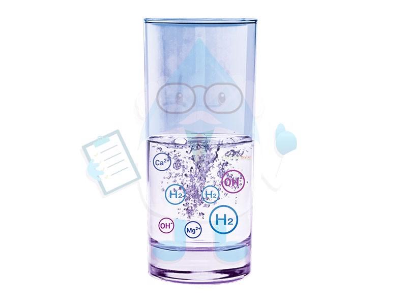 Nước ion kiềm thường có độ pH từ 8.5 đến 9.5 có tác dụng trung hòa lượng axit dư thừa