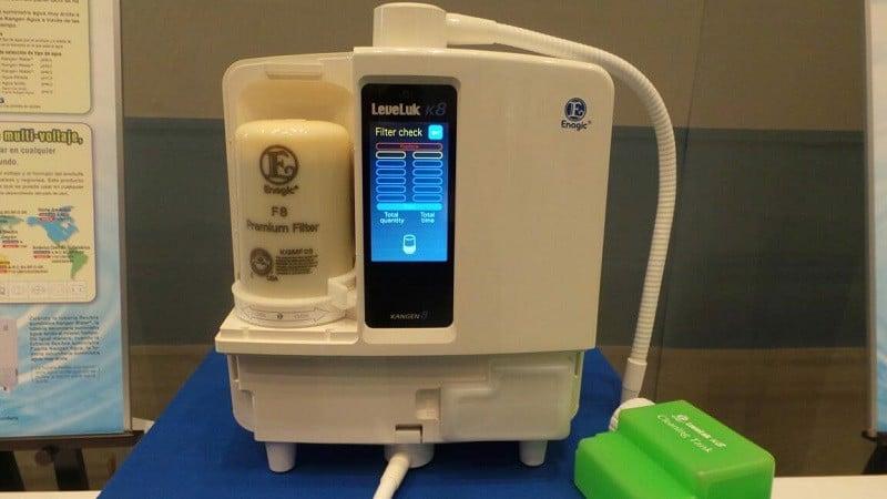 Cục tim lọc máy Kangen Leveluk K8 có thiết kế đơn giản dễ lắp đặt