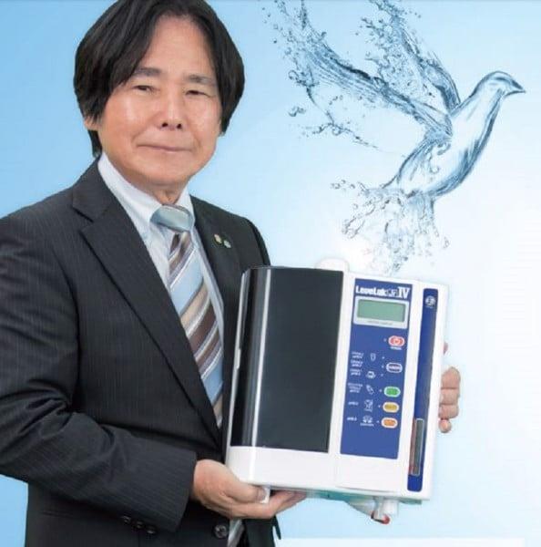 Mẫu máy lọc nước Kangen JRIV có xuất xứ 100% từ Nhật Bản