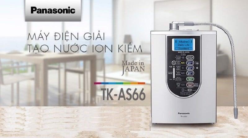 Máy lọc TK – AS66 của Panasonic đạt được nhiều giải thưởng