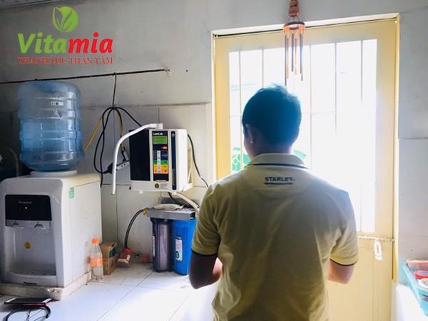 Bật mí chương trình khuyến mãi máy điện giải Kangen Leveluk JRII cực hot tại Vitamia