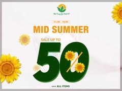 ✨ MID-SUMMER SALE UP TO 50% ++ ✨