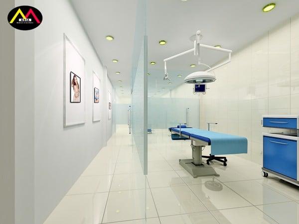 Dự án setup phòng tiểu phẫu đẹp tại Quận 10