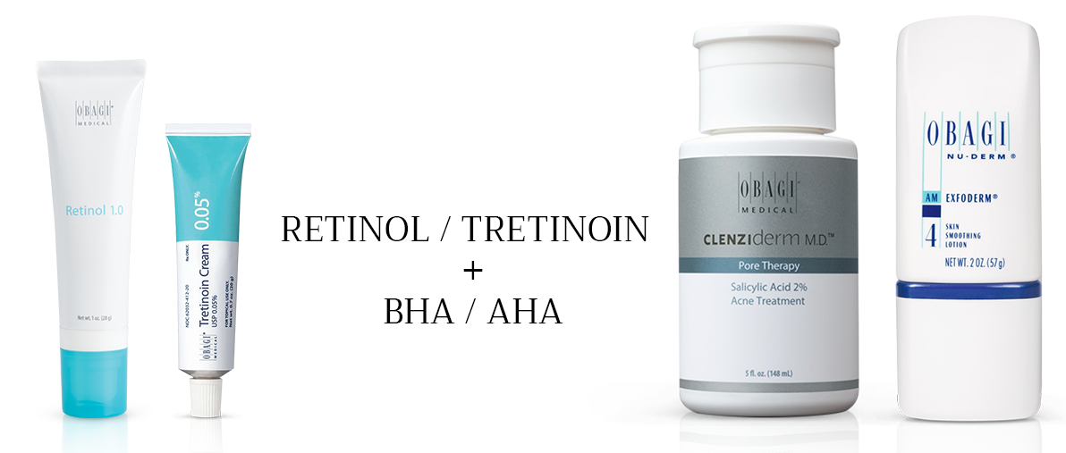 kết hợp retinol