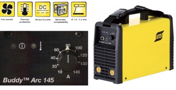 BUDDY™ ARC 145 AND 180 - PORTABLE SOLUTIONS FOR  PROFESSIONAL WELDING