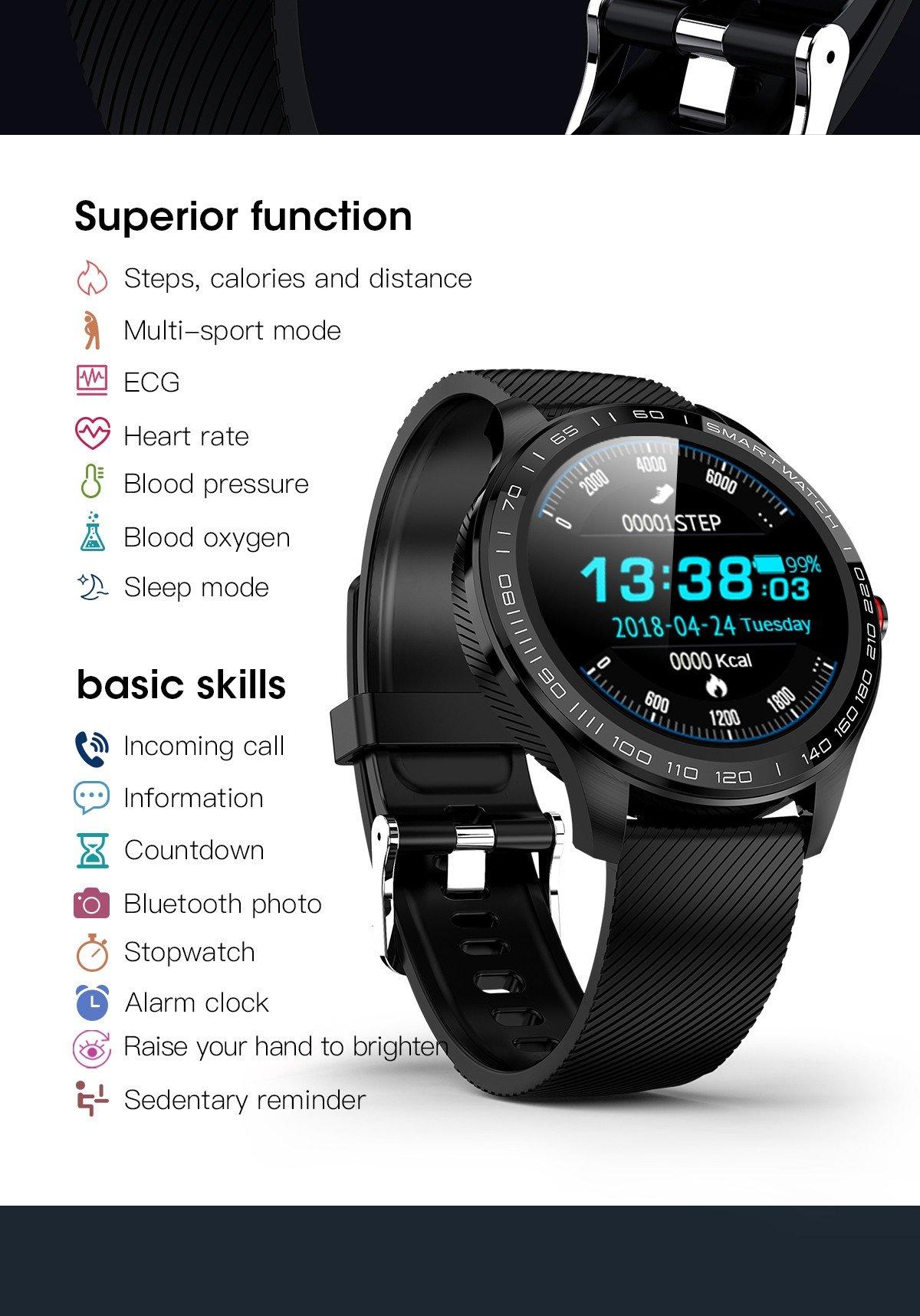 Đồng hồ thông minh Microwear L9