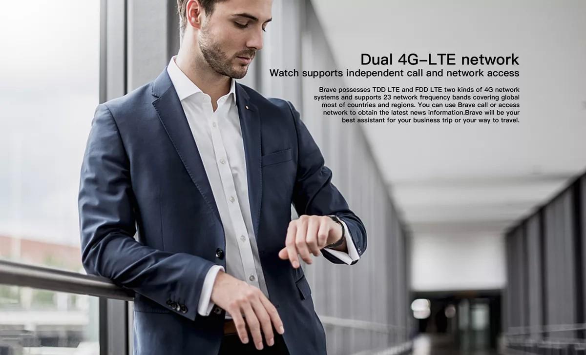 Đồng hồ điện thoại thông minh Kospet Brave 4G