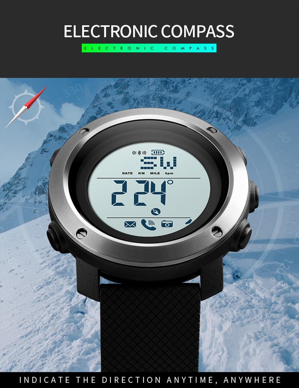 Đồng hồ thể thao nam Bluetooth Skmei 1511