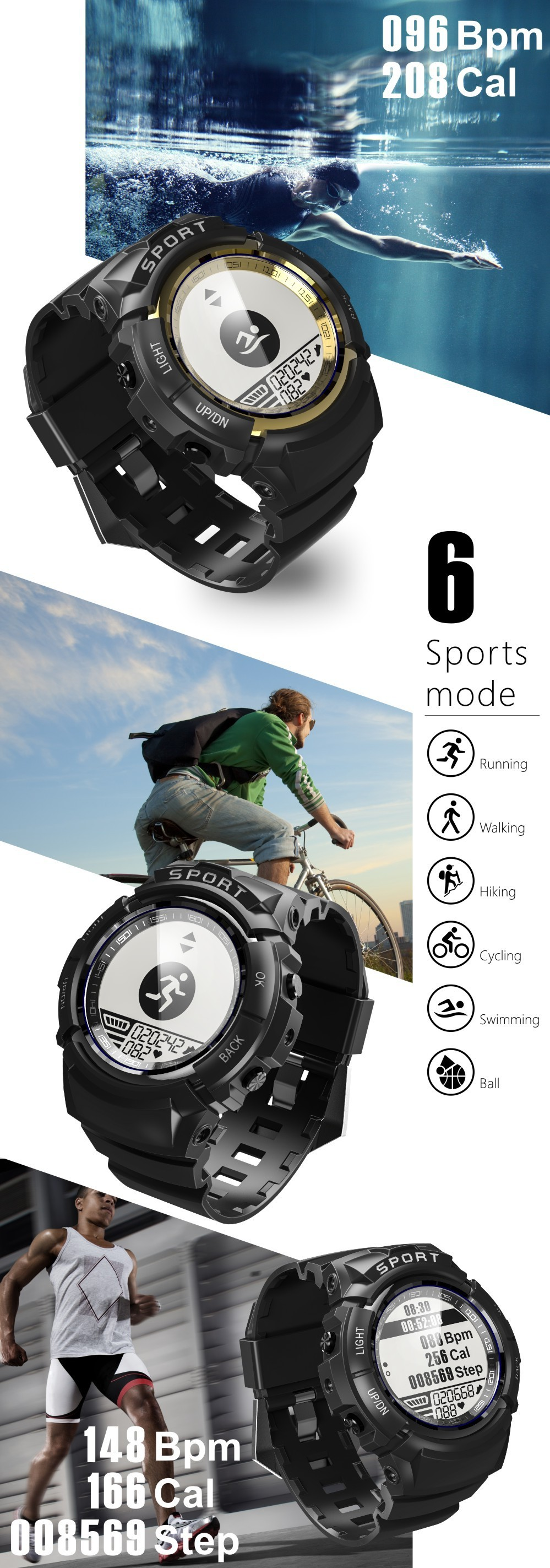 Dong ho smartwatch S816