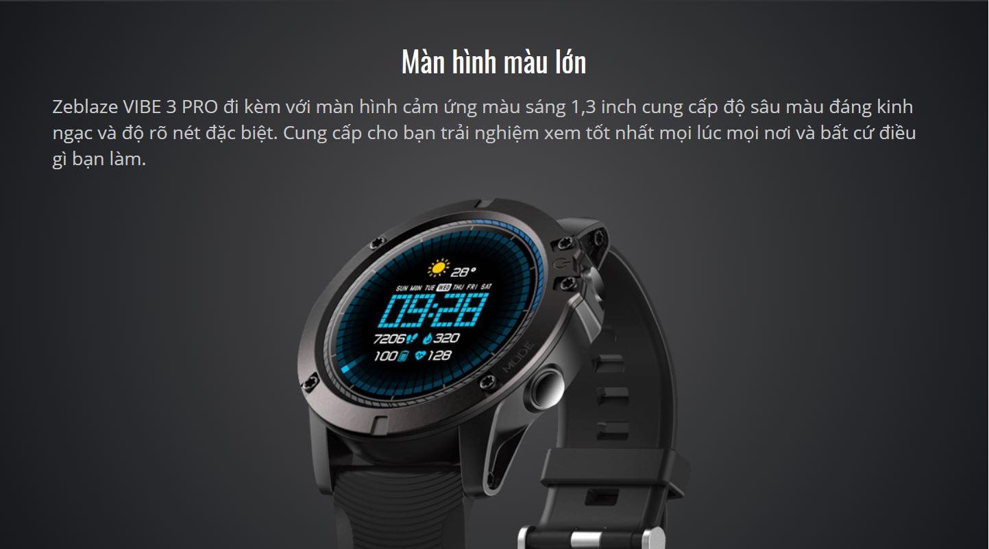 Đồng hồ thông minh Zeblaze Vibe 3 Pro