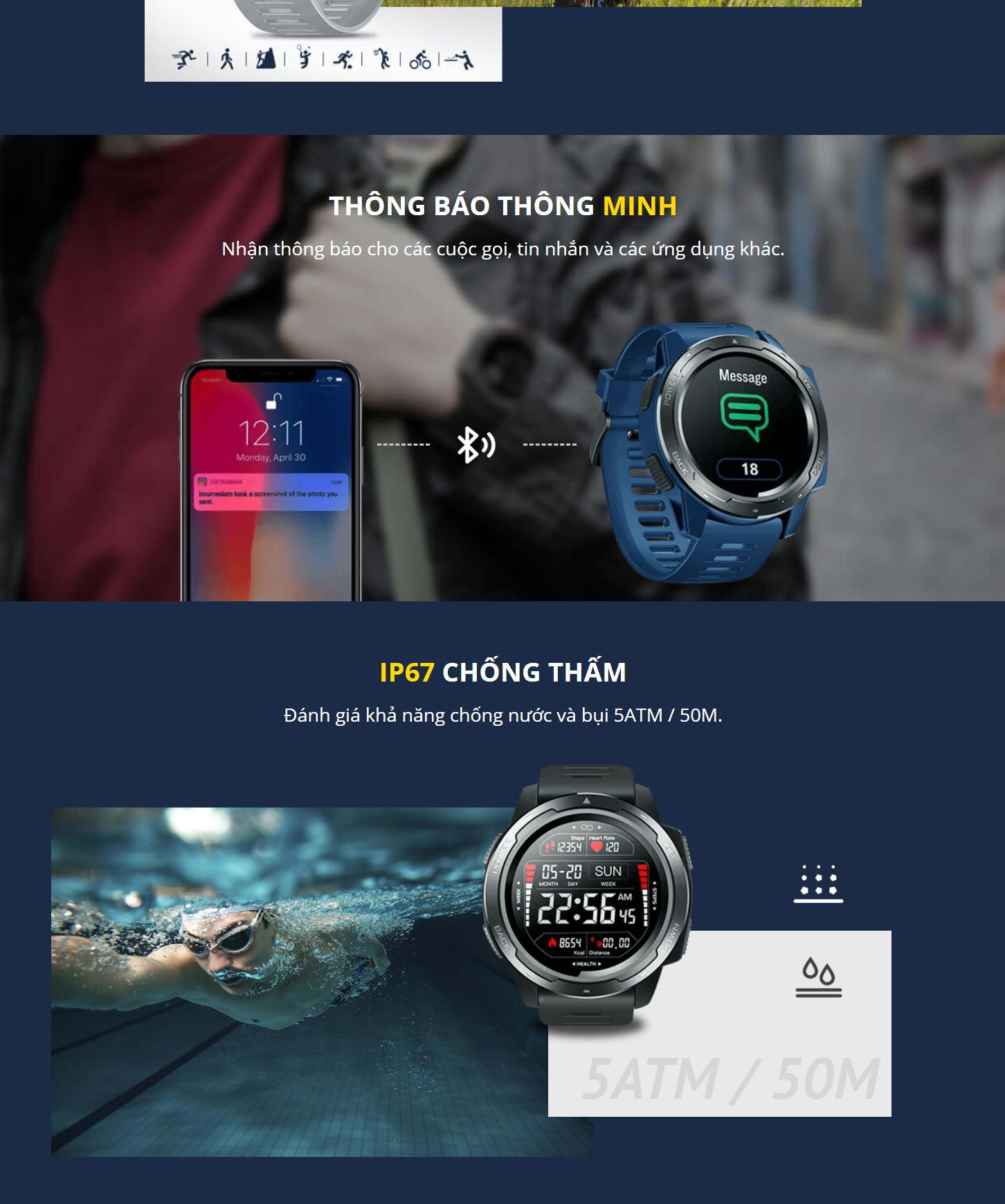 Zeblaze Vibe 5 Smartwatch