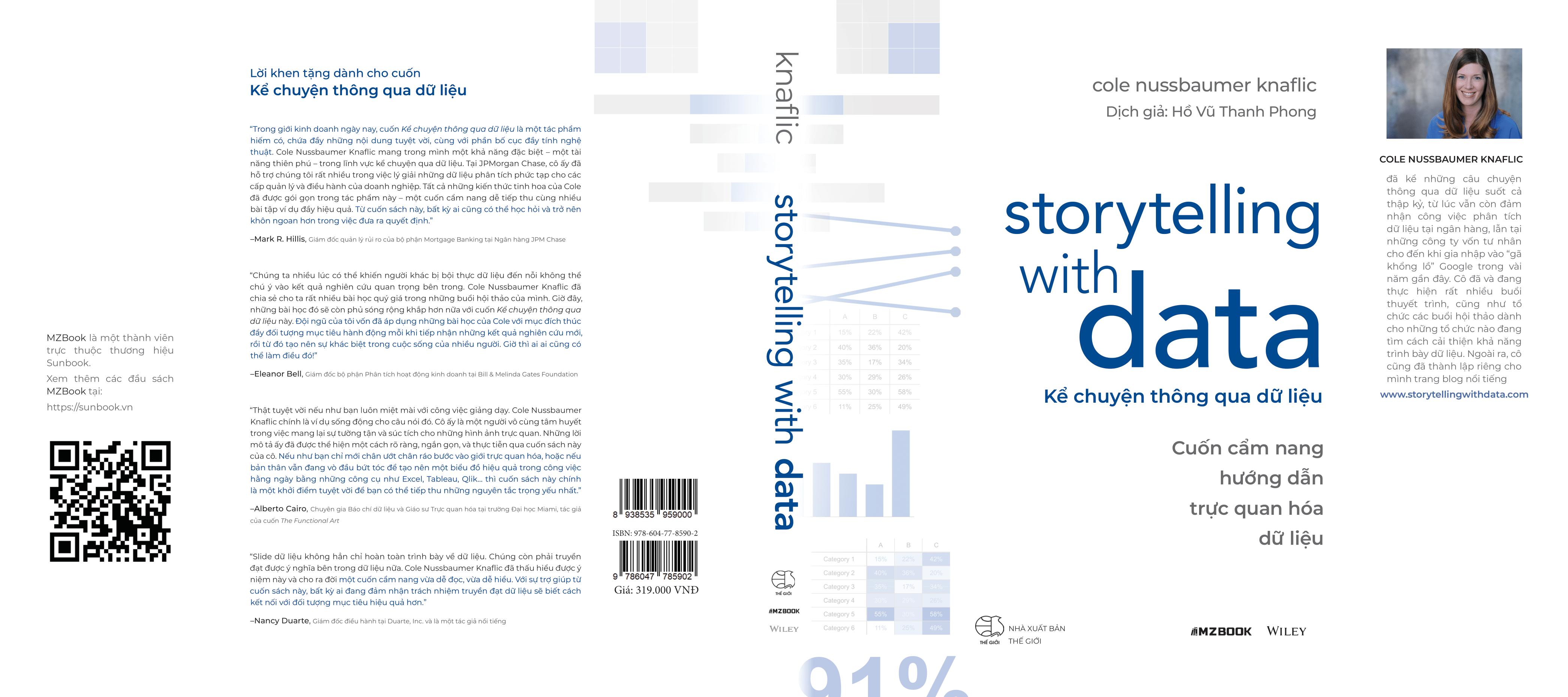 Sách: Storytelling with data - kể chuyện thông qua dữ liệu 9