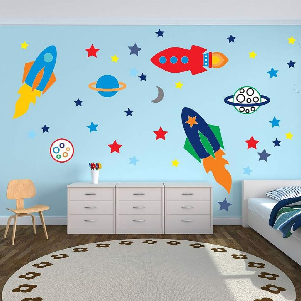 Vẽ tranh tường mầm non đẹp nhất