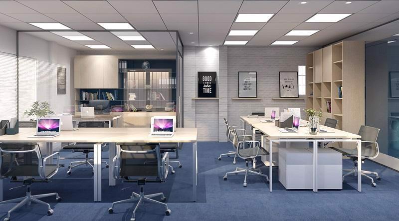 Tranh bộ hiện đại văn phòng