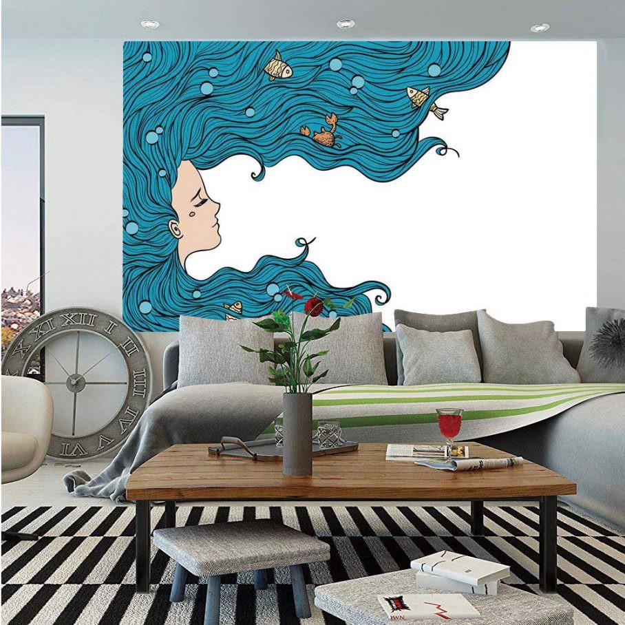 vẽ tường phòng ngủ độc đáo