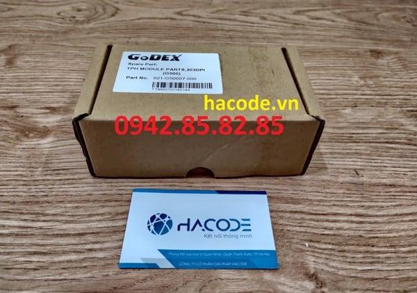 thay thế đầu in máy in mã vạch godex g500