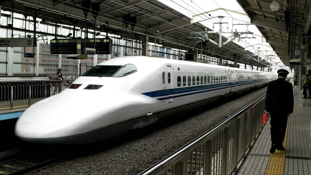Shinkansen Bullet Train Nhat Ban
