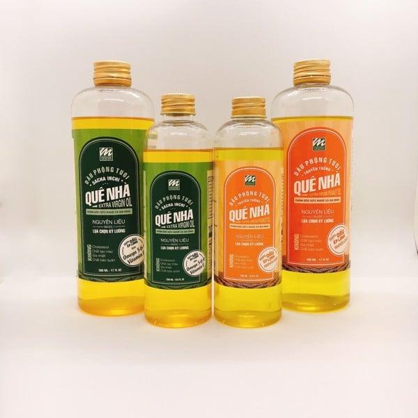 Sản phẩm dầu phộng Megumi