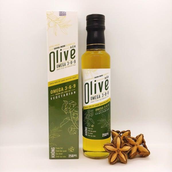 Dầu olive extra virgin sacha inchi