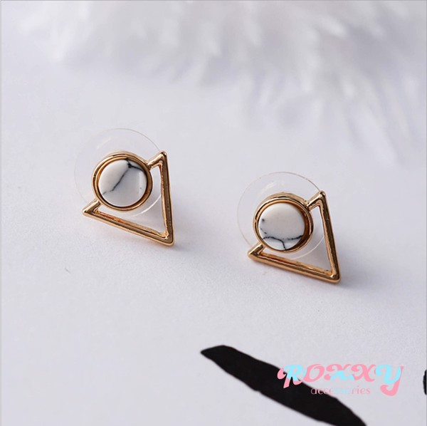 AMY MARBLE EARRINGS