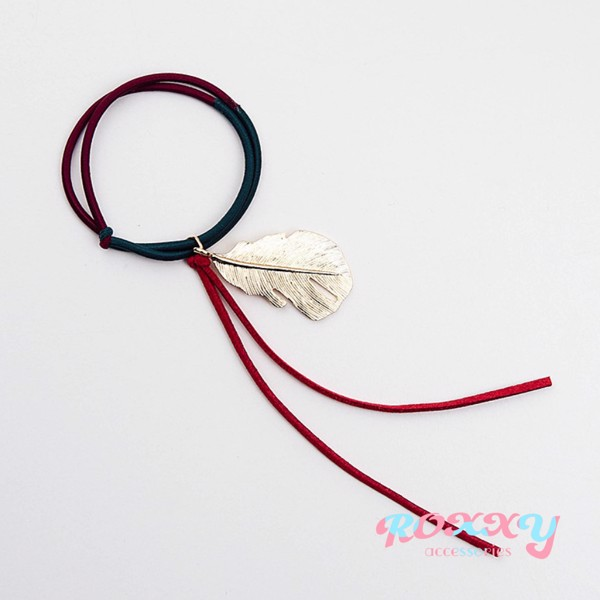 RETRO FEATHER HAIRBAND