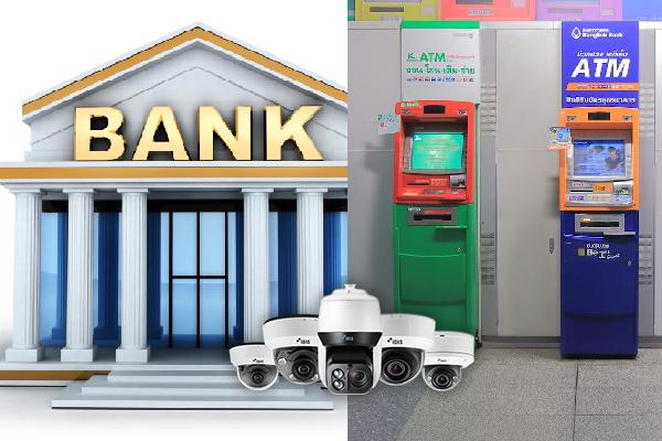 Camera IDIS tại ngân hàng