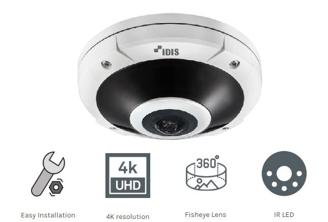 Điểm đặc biệt ở tính năng của camera Idis DC-Y8C13RX