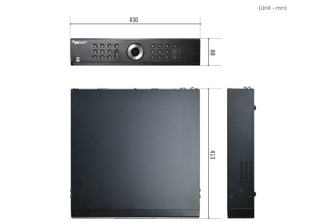 Thiết kế của đầu ghi camera HD-TVI Idis 16 kênh TR-4316