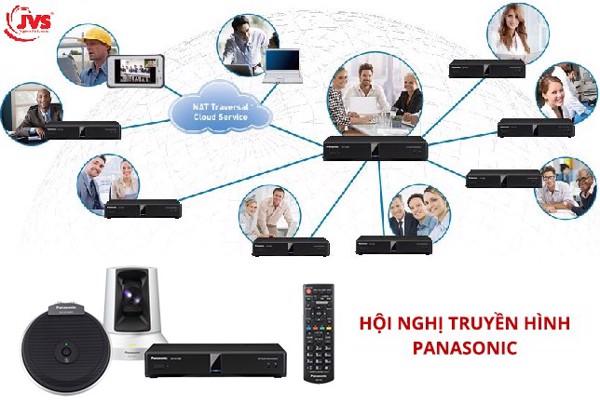 Hội nghị truyền hình Panasonic có thể kết nối hội nghị cho nhiều điểm cùng lúc
