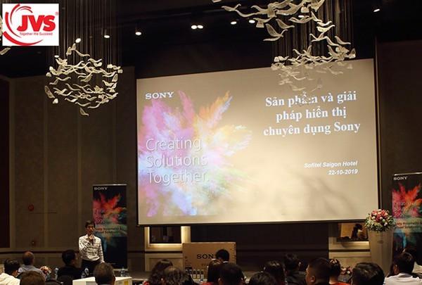 Hội thảo sản phẩm và giải pháp hiển thị chuyên dụng Sony