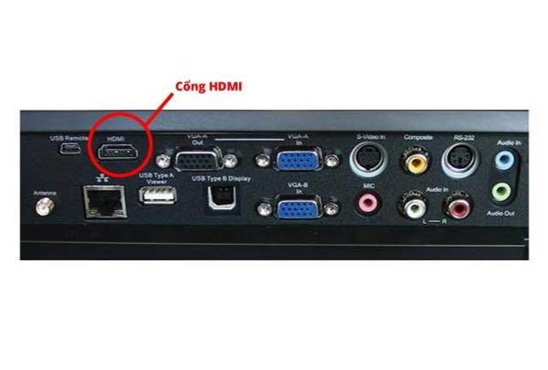 Cổng HDMI trên máy chiếu