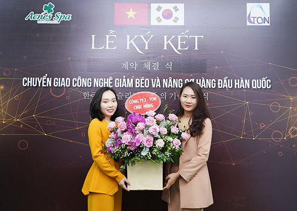 Lễ ký kết chuyển giao công nghệ Z-Ton Việt Nam và Acnes Spa 3