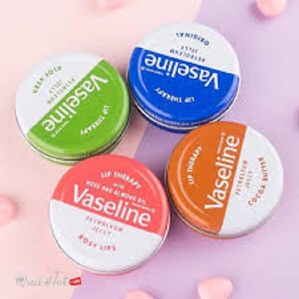 Son dưỡng môi Vaseline.