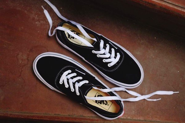 Giày Vans Authentic Black White - VN000EE3BLK