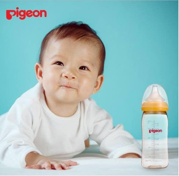 Bình sữa Pigeon – Sự lựa chọn tốt nhất dành cho bé yêu!