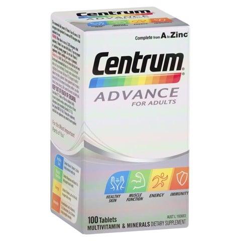 Vitamin tổng hợp Centrum Advance cho người lớn dưới 50 tuổi