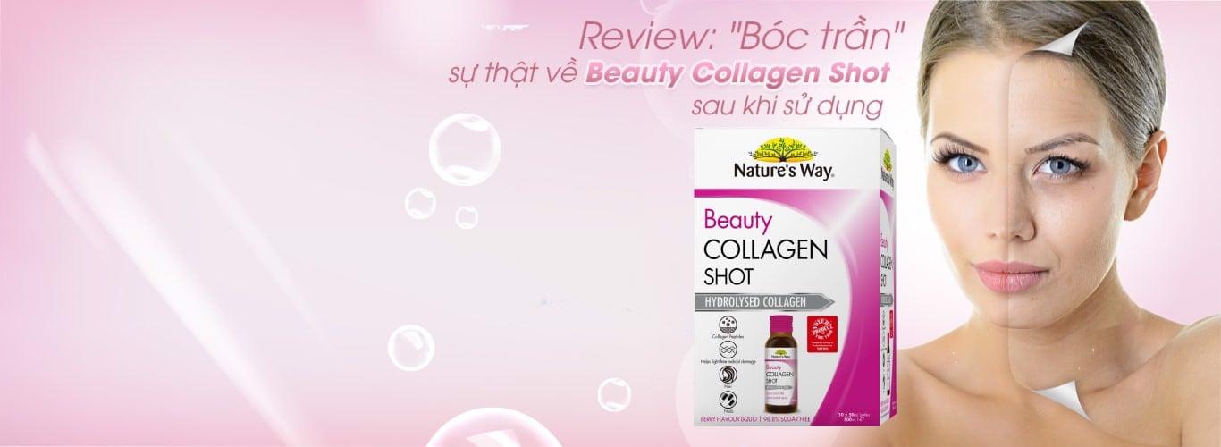 """[REVIEW] """"Bóc trần"""" sự thật về Beauty Collagen Shot sau khi sử dụng"""