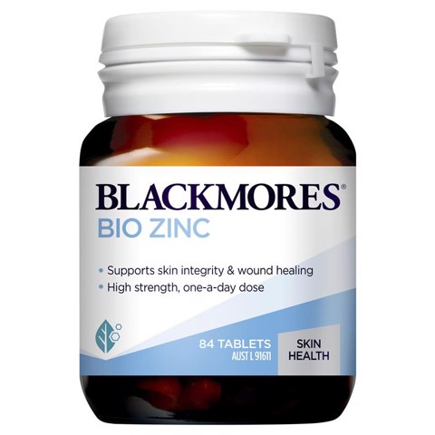 Blackmores Bio ZinC 84 viên mẫu mới