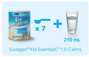 Hướng dẫn sử dụng sữa Kid Essentials Úc