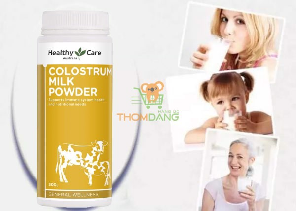 Hướng dẫn sử dụng sữa non Úc Healthy Care