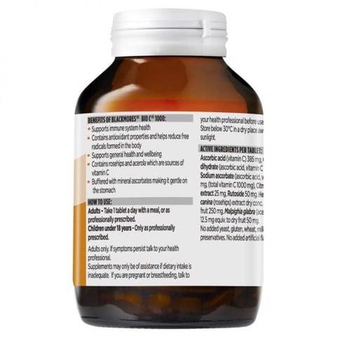 Cách sử dụng Vitamin C Blackmores