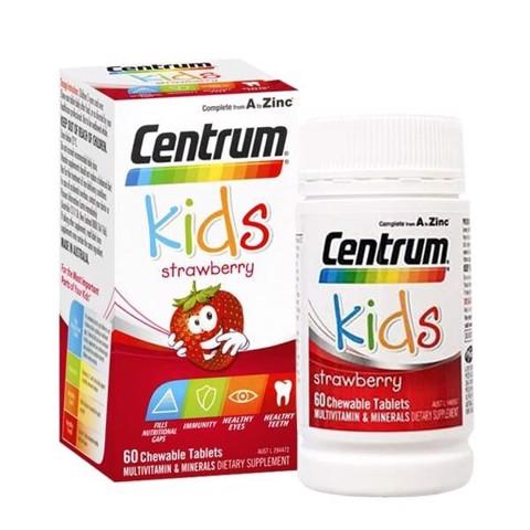 Centrum kids dạng viên bổ dưỡng cho bé